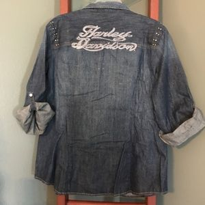 Harley-Davidson Tops - Harley Davdison Women's shirt